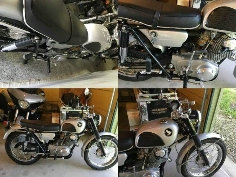 1965 Honda 305 Scrambler CL77 silver used for sale craigslist