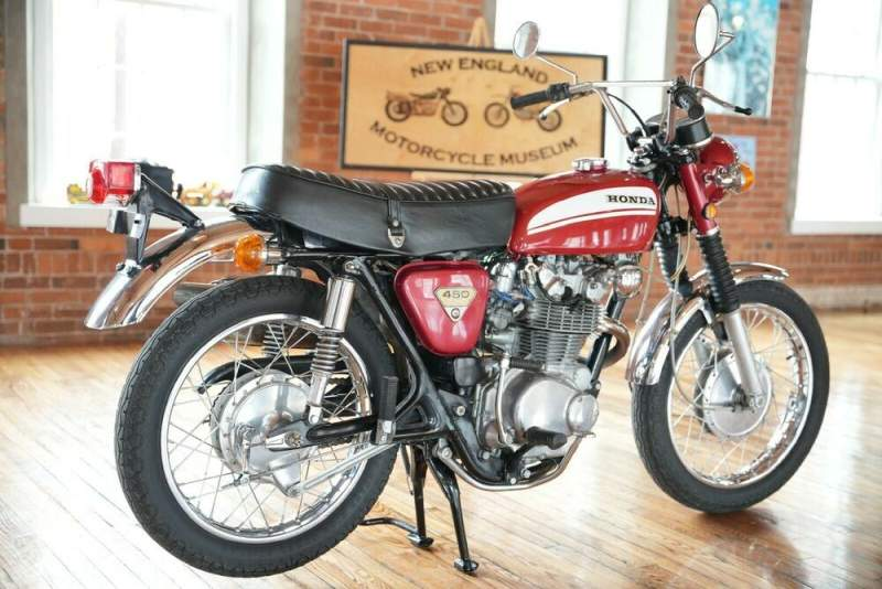1970 Honda CL RED used for sale