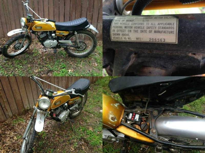 1970 Yamaha HT1  for sale craigslist
