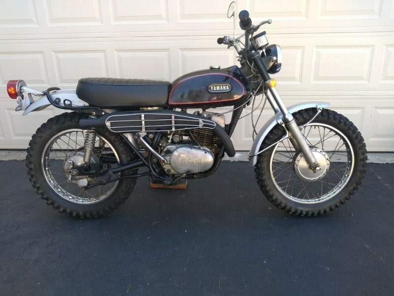 1971 Yamaha RT-1B Black and Silver used for sale