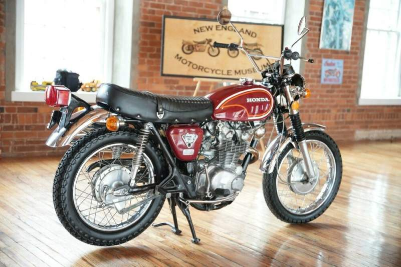 1972 Honda CL Red used for sale craigslist