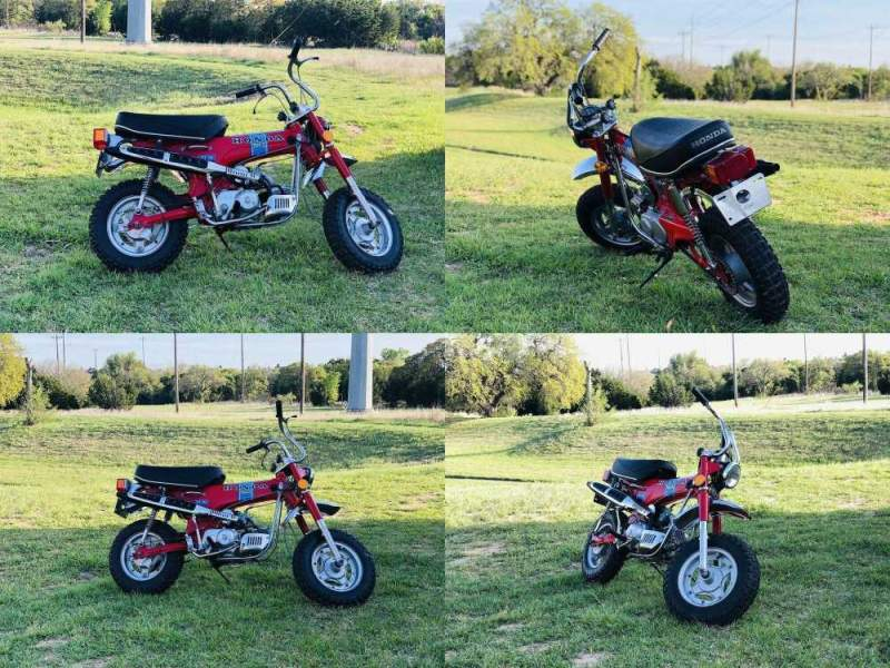1972 Honda CT70 Red used for sale