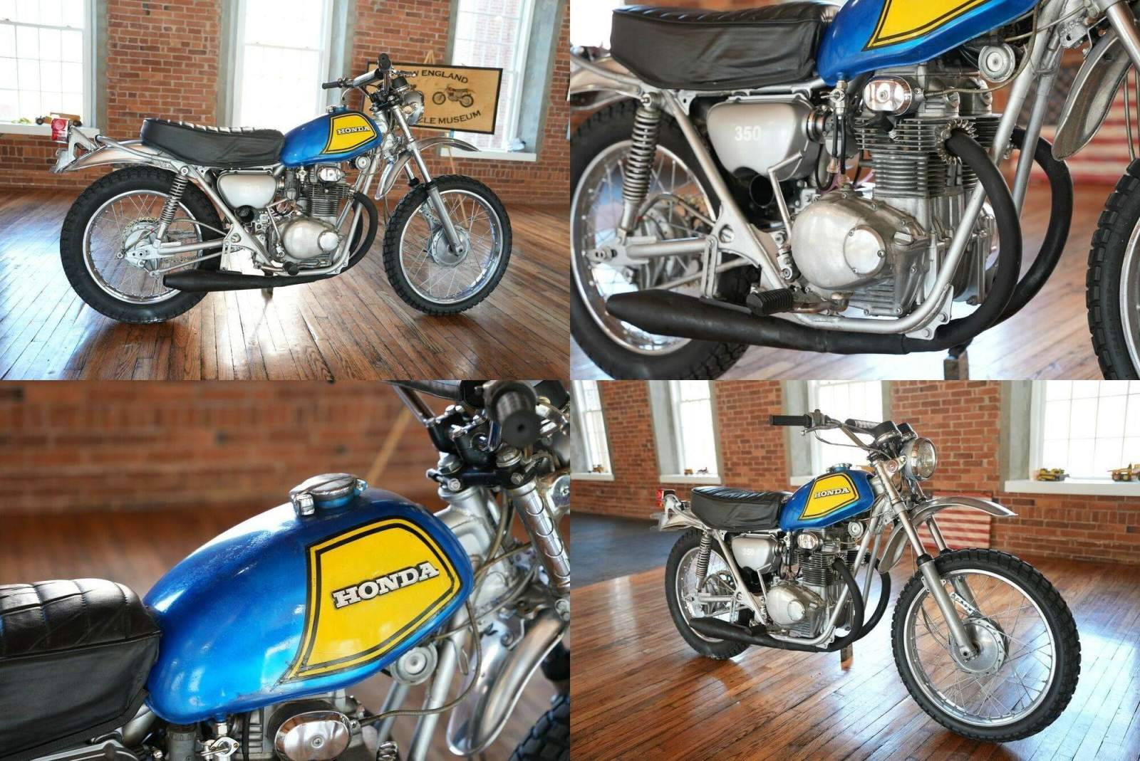 1972 Honda SL350 K2 Motosport  used for sale