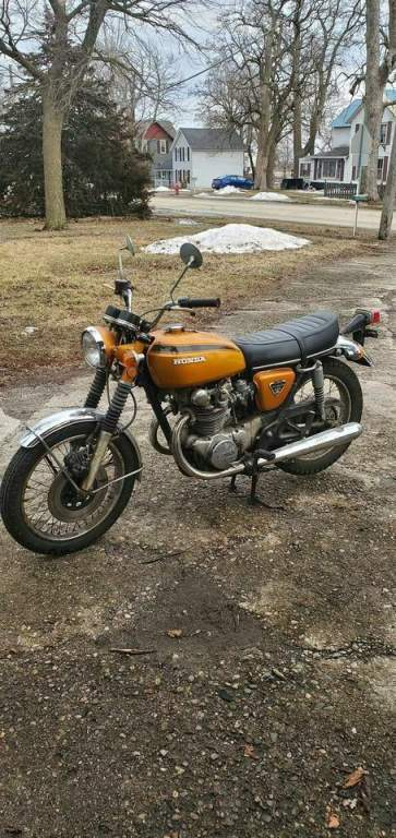 1972 Yamaha CB450 Orange used for sale craigslist