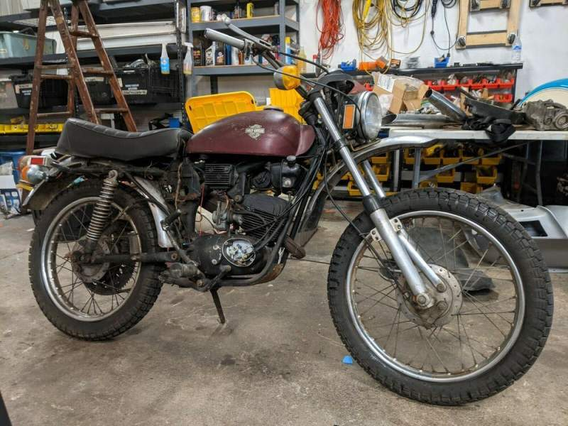 1973 Harley-Davidson SX-125 Red used for sale
