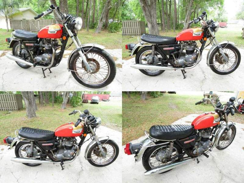 1973 Triumph Bonneville   for sale craigslist