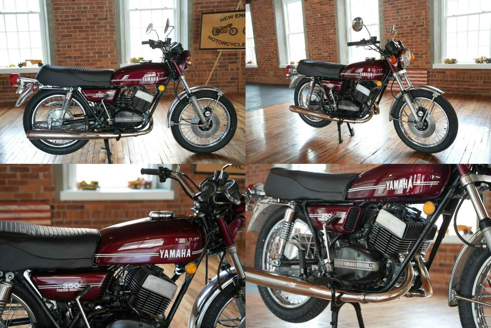 1973 Yamaha RD350  for sale craigslist