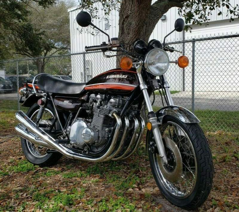 1974 Kawasaki 1974 Kawasaki Z1 900 Brown used for sale