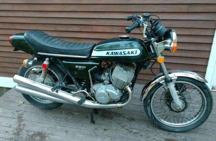 1974 Kawasaki H2 Green used for sale craigslist
