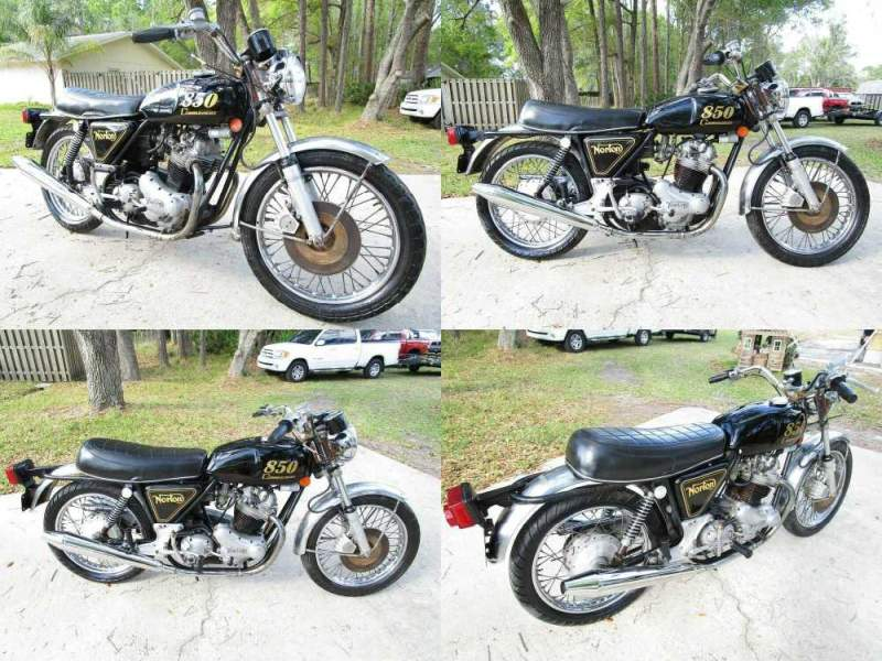1974 Norton Commando 850   for sale craigslist