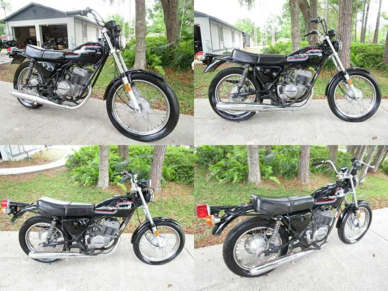 1975 Harley-Davidson SS 250  used for sale