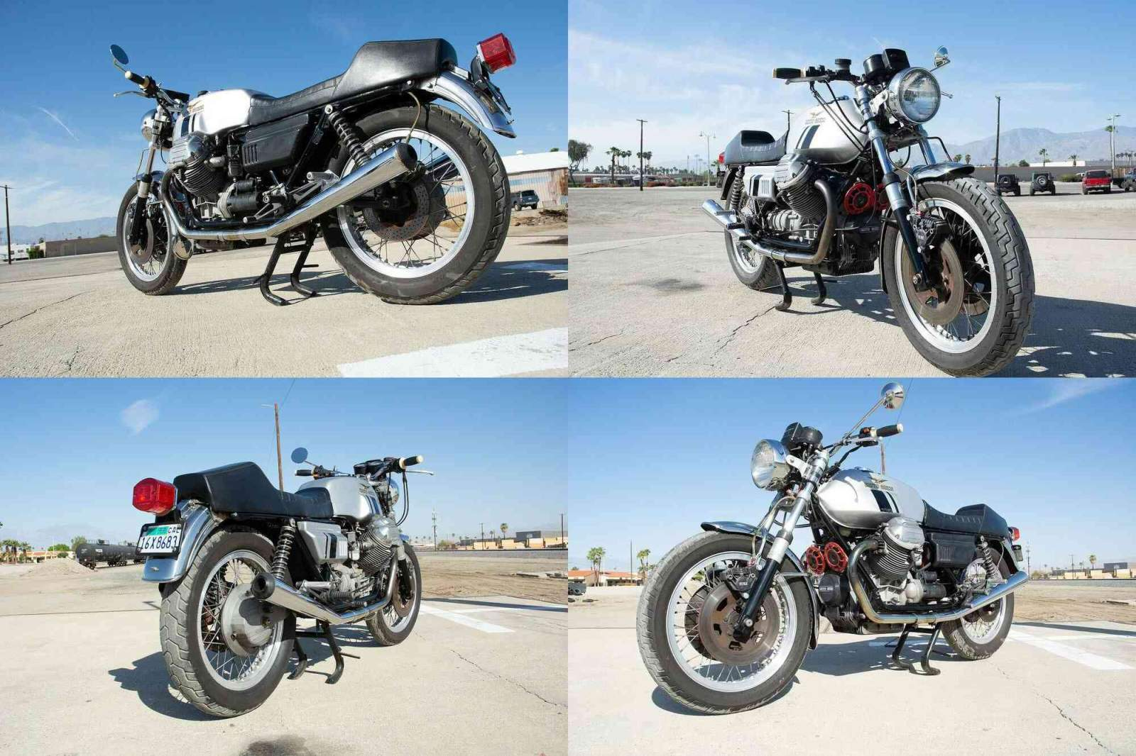 1975 Moto Guzzi Cafe Racer Silver used for sale craigslist