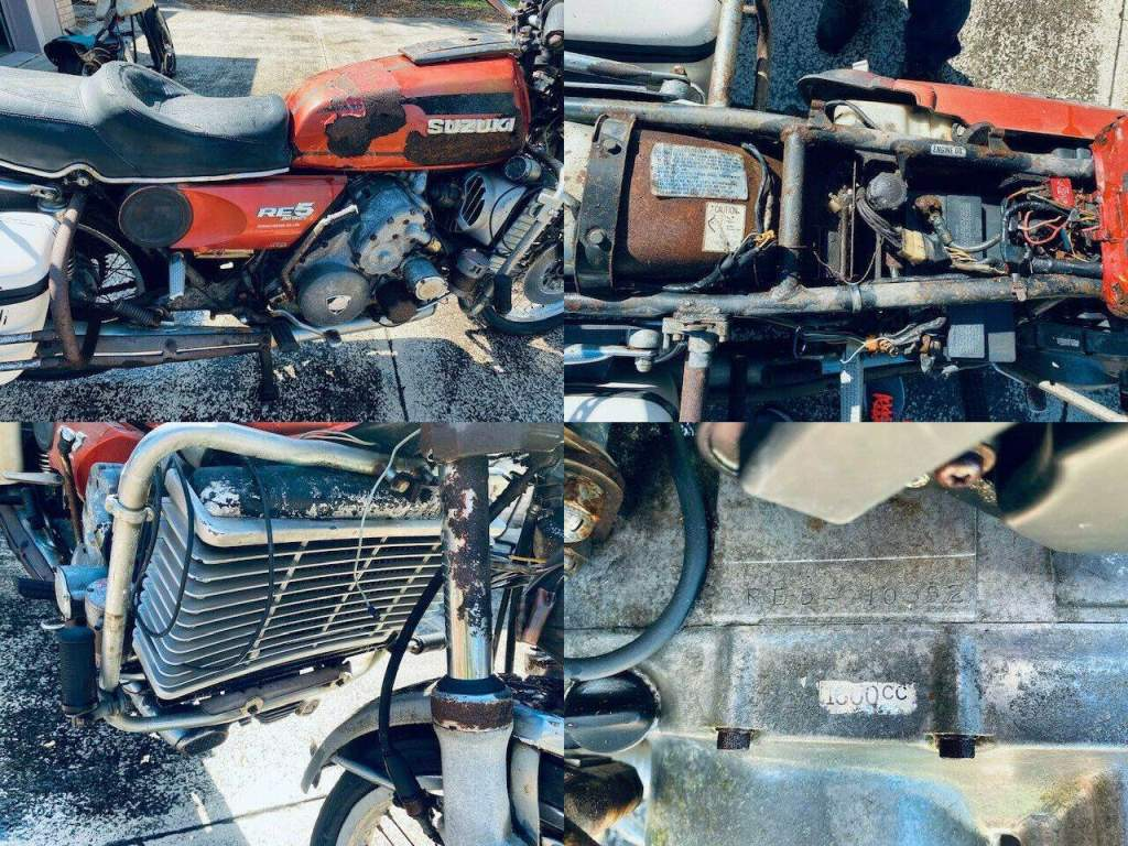 1975 Suzuki RE5-10697 Red used for sale