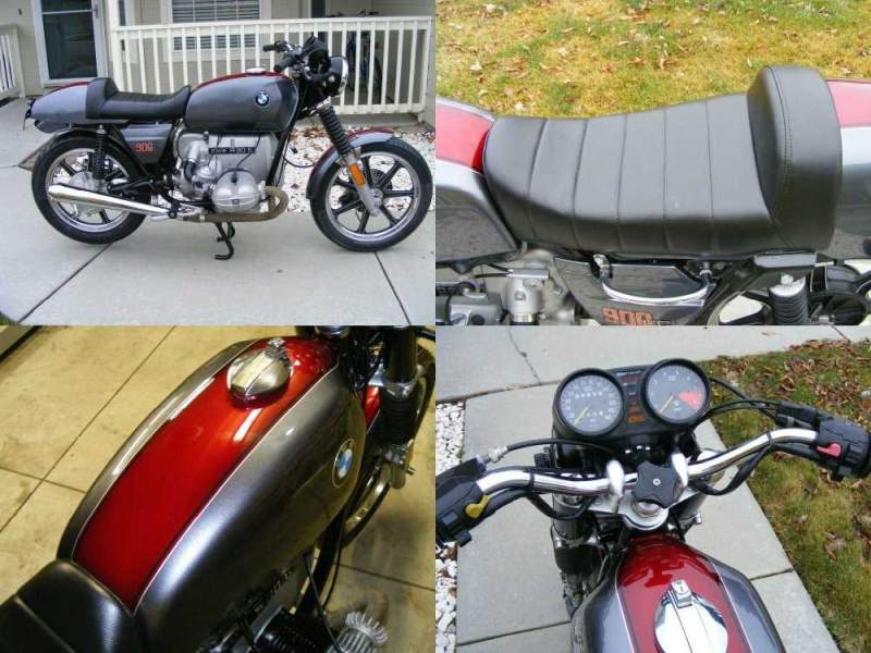 1976 BMW R-Series Grey and Maroon used for sale