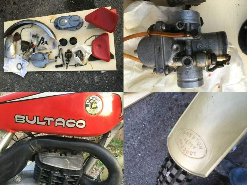 1976 Bultaco Sherpa T  for sale craigslist