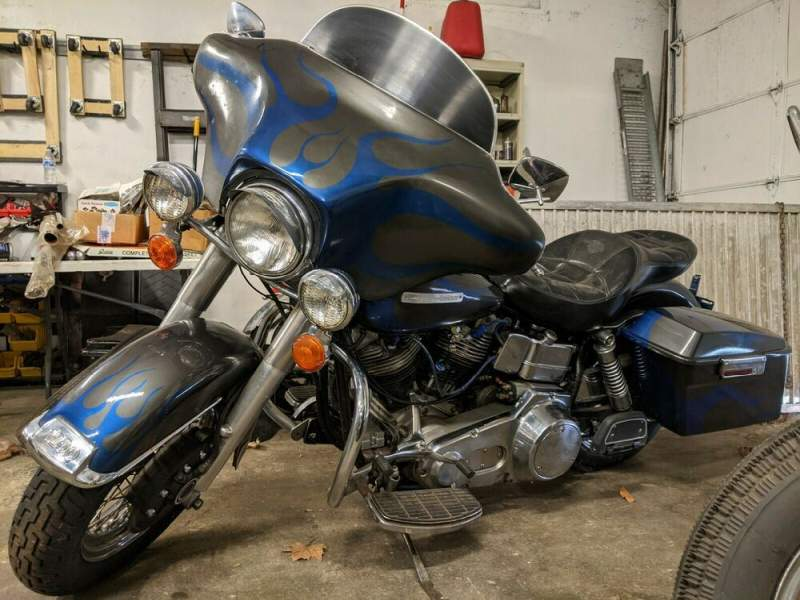 1977 Harley Davidson Touring   for sale craigslist