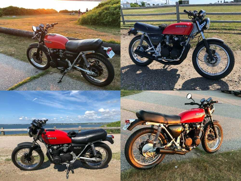 1978 Honda 550 Four Red used for sale craigslist