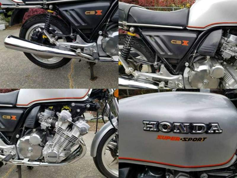 1979 Honda CBX Silver used for sale