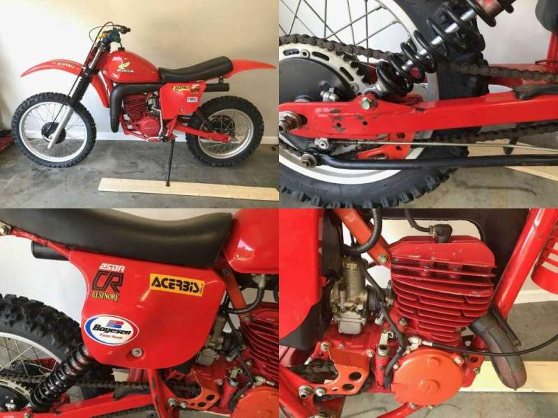 1979 Honda CR Red used for sale