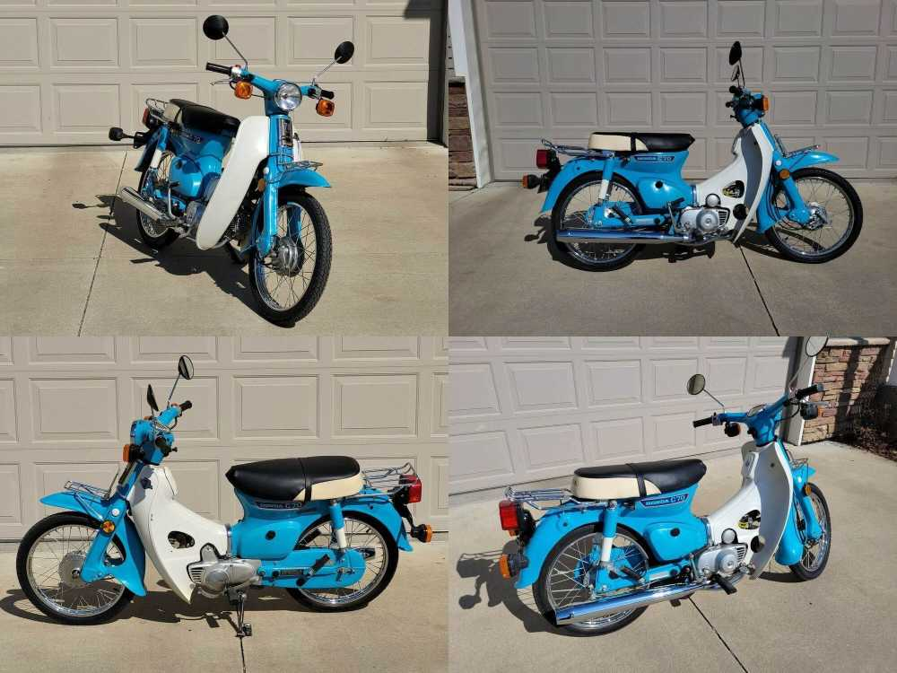 1980 Honda C70 Passport Blue used for sale