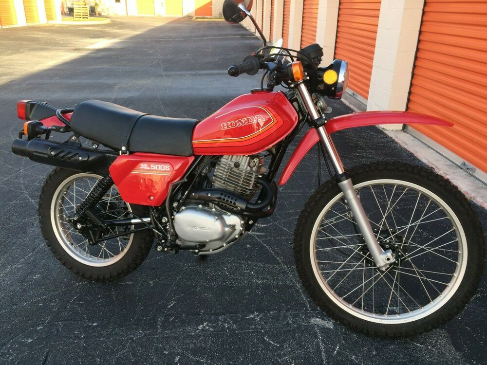 1980 Honda Honda XL500S Red used for sale craigslist