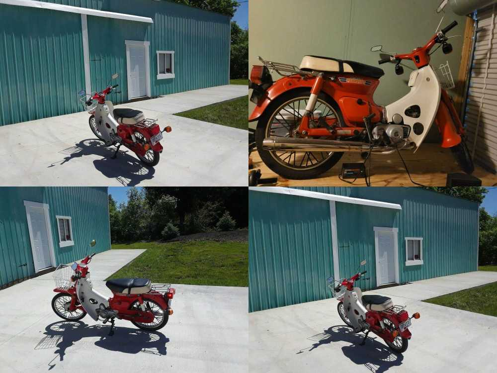 1981 Honda C70 Red used for sale