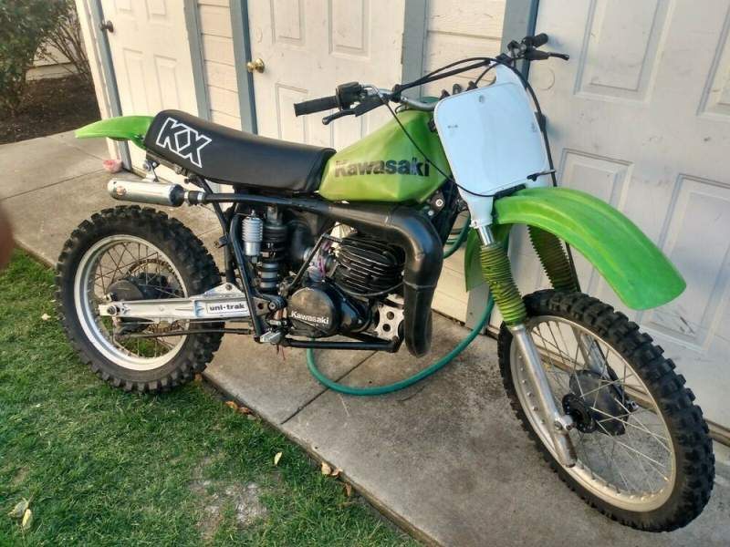 1981 Kawasaki KX250 Green used for sale
