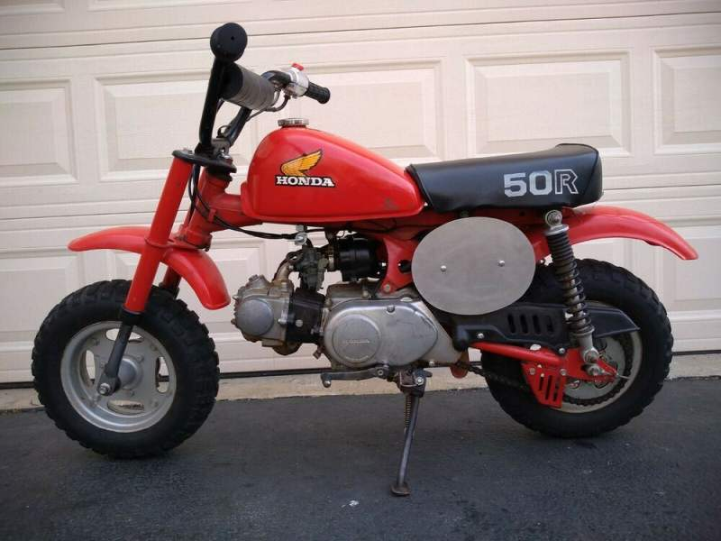 1982 Honda Z50R Red used for sale craigslist