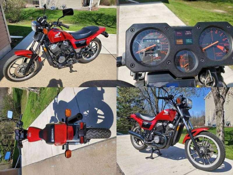 1983 Honda Ascot 500 Red used for sale