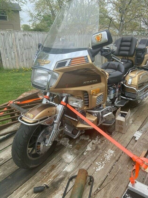 1985 Honda Gold Wing Gold used for sale craigslist