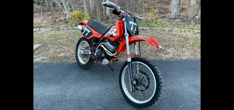 1985 Honda XR Red used for sale