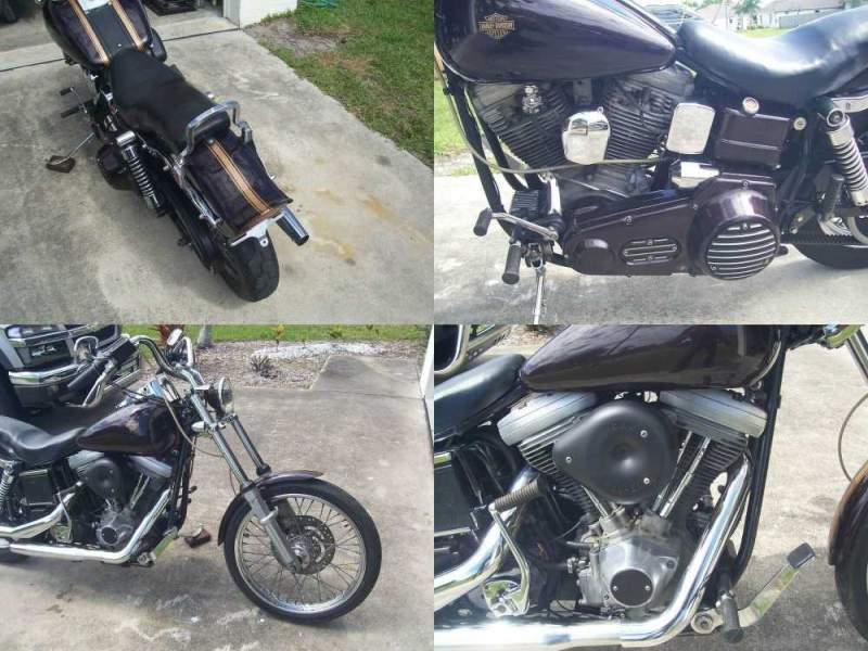 1986 Harley-Davidson Other Burgundy used for sale craigslist