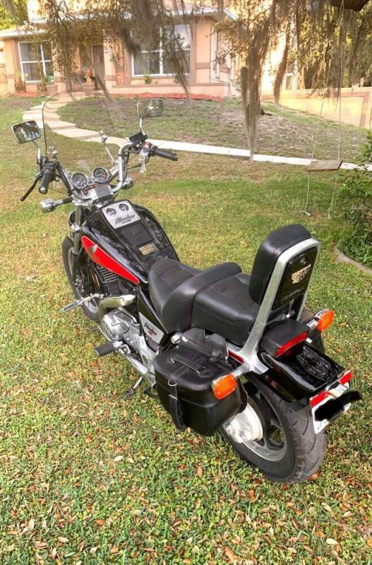 1986 Honda Shadow Red used for sale craigslist