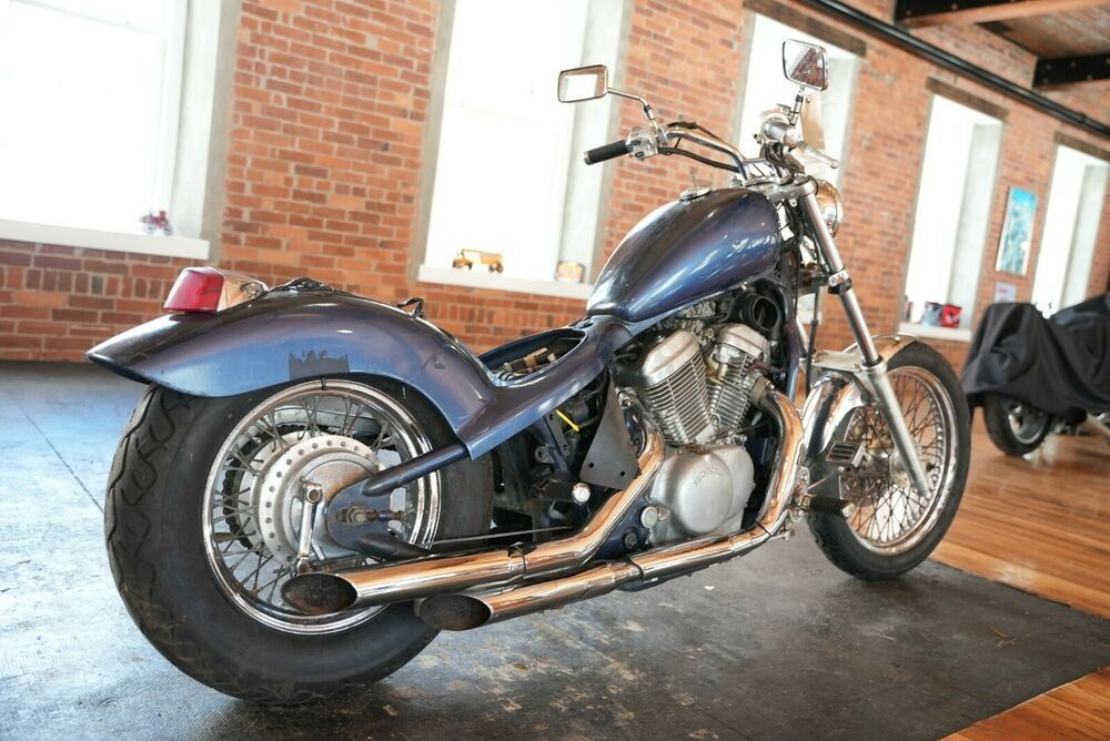 1986 Honda Shadow Blue used for sale