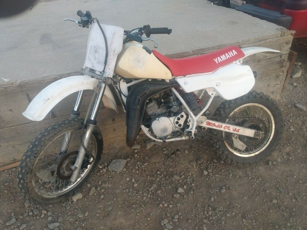 1987 Yamaha YAMAHA YZ80 Yellow used for sale craigslist