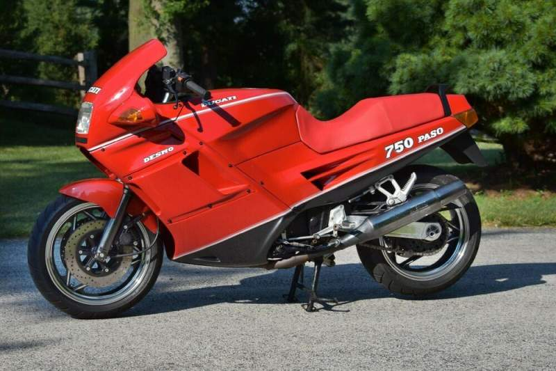 1988 Ducati Paso 750 Red used for sale craigslist