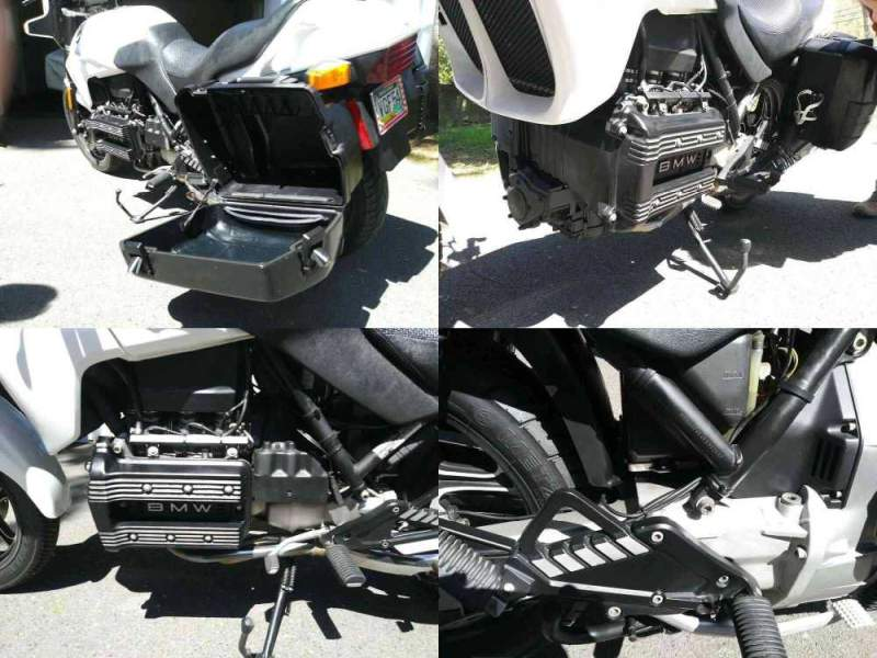 1989 BMW K-Series White used for sale