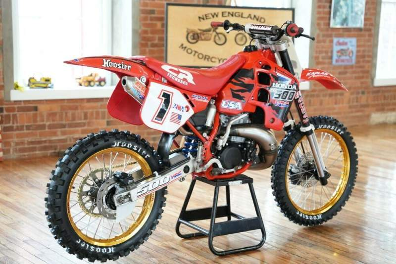 1989 Honda CR BLOOD RED used for sale