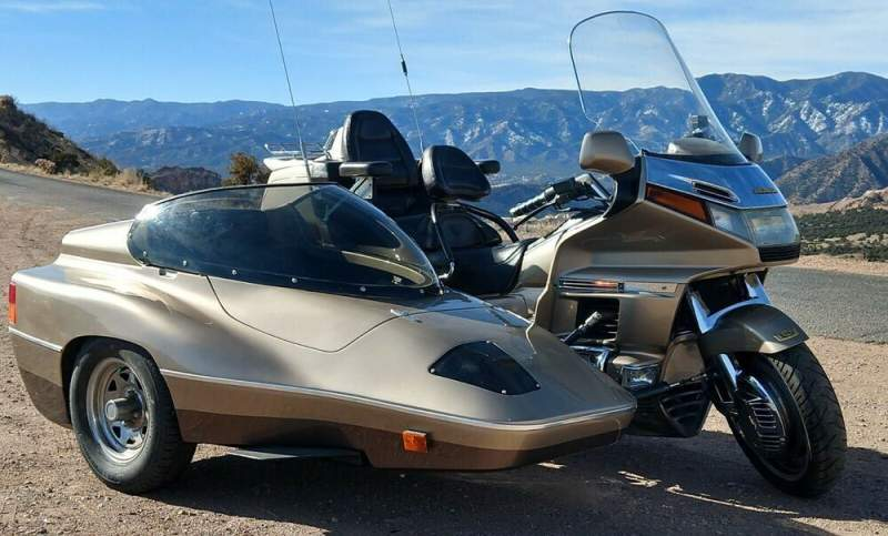 1989 Honda Gold Wing Gold used for sale