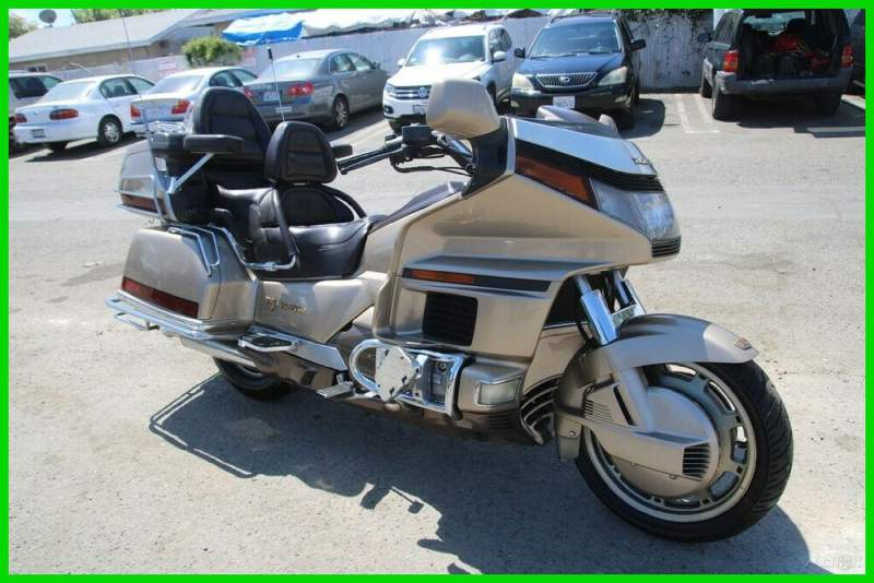 1989 Honda Gold Wing Tan used for sale