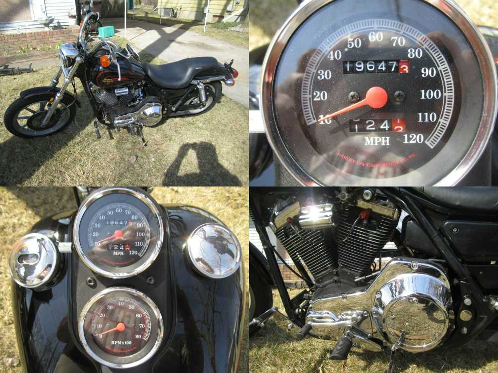 1990 Harley-Davidson FXR Black used for sale craigslist