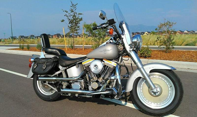 1990 Harley-Davidson Softail Silver used for sale craigslist
