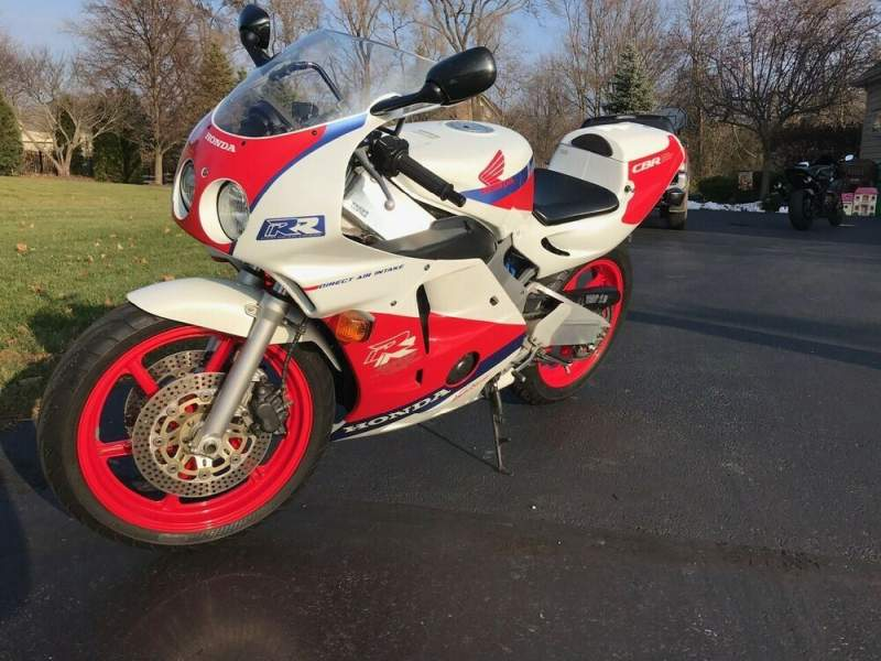 1990 Honda CBR Red used for sale craigslist