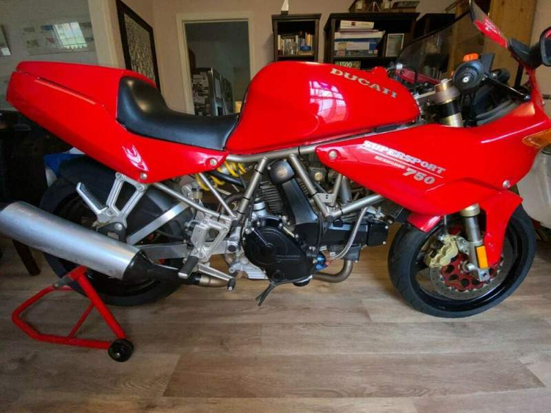 1993 Ducati Supersport Red used for sale craigslist