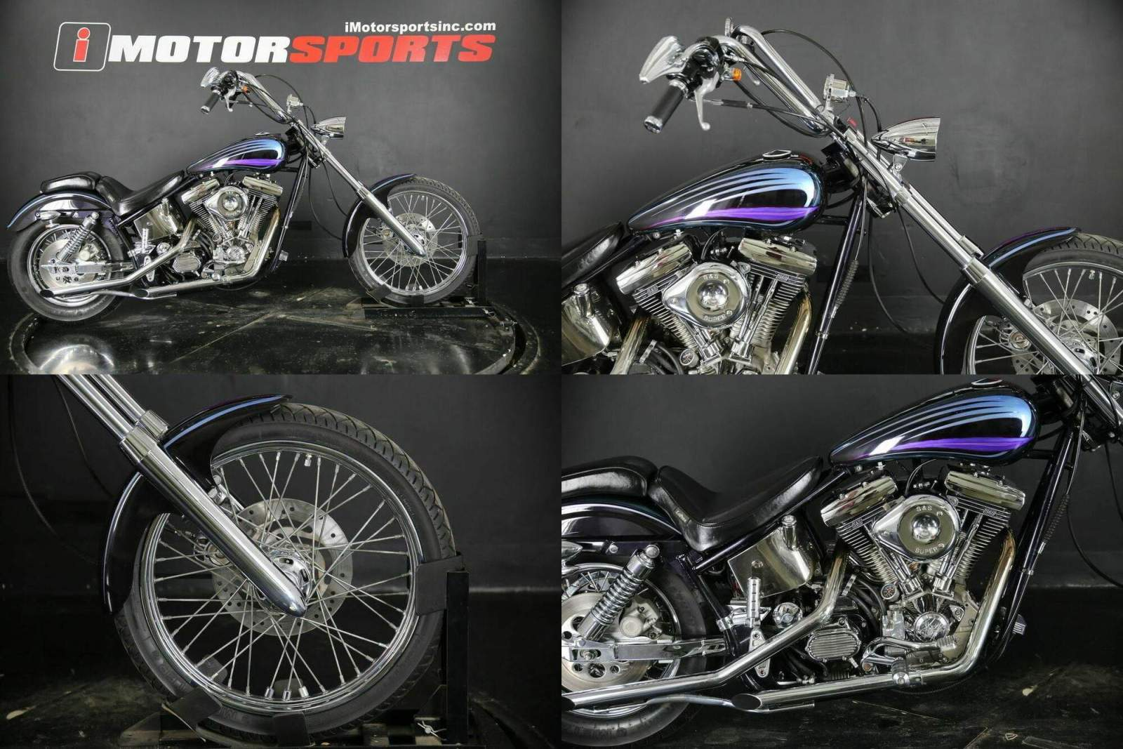 1994 Custom Built Motorcycles DYNA LOWRIDER Black used for sale craigslist