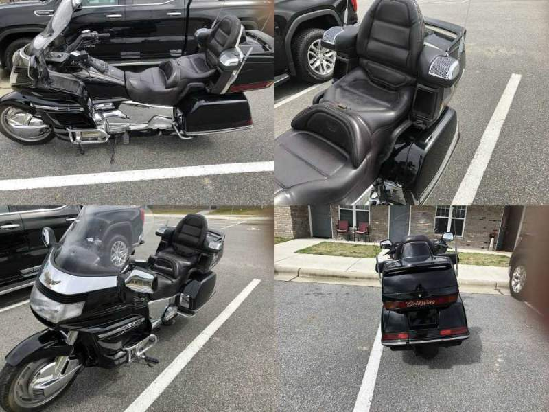 1994 Honda Goldwing 1500 Black used for sale