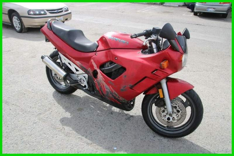 1995 Suzuki GSX / Katana Red used for sale craigslist