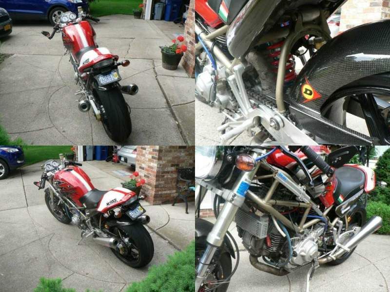 1996 Ducati Monster Red used for sale craigslist