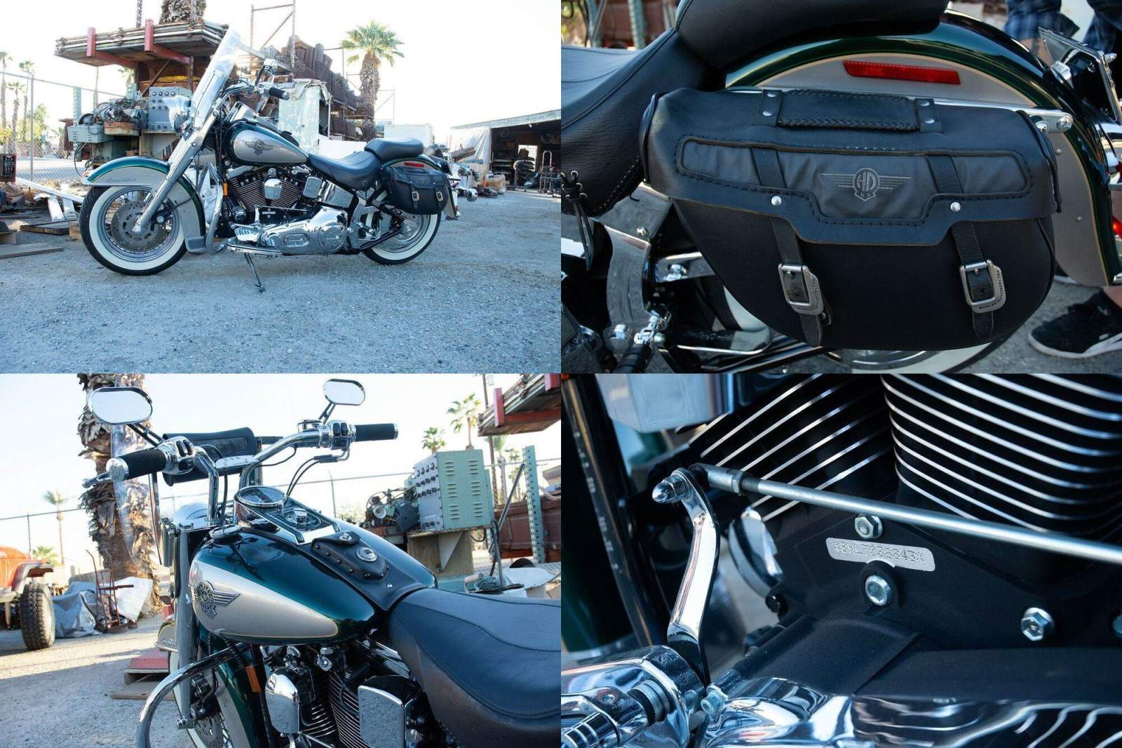1996 Harley-Davidson Softail Green used for sale craigslist