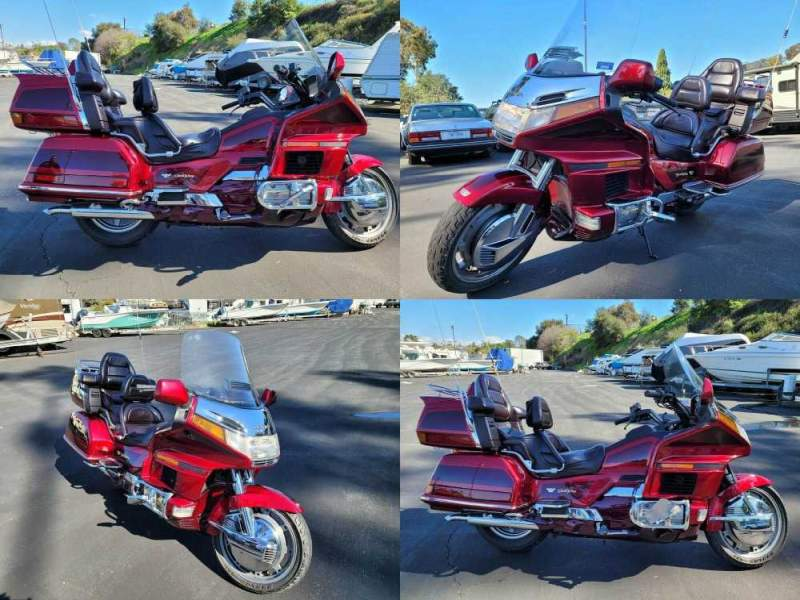 1996 Honda GOLDWING 1500 Red used for sale craigslist